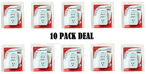 Voltage Low Surge Protection - AC Voltage Protector Brownout Surge Refrigerator 1800 Watts Appliance 10 PACK