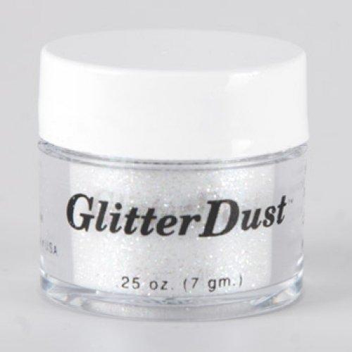 Mehron poussière Glitter - blanc