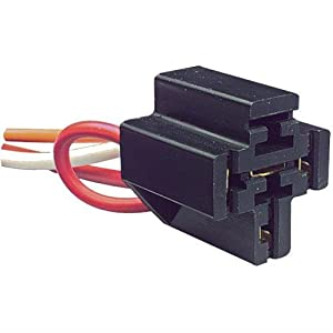 Amazoncom Parts Express VDC Pin Relay Socket With Diode For - 5 pin relay socket
