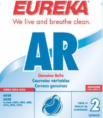 "ELECTROLUX HOMECARE PRODUCTS Eureka Style ""AR"" Vacuum Cleaner Belt, 2-Pack"