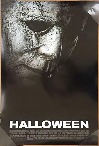 HALLOWEEN MOVIE POSTER 2 Sided ORIGINAL FINAL 2018 27x40 MICHAEL MYERS]()
