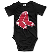 Boston Red Sox BABY Funny Short Sleeves Variety Baby Onesies Jumpsuit For Babies