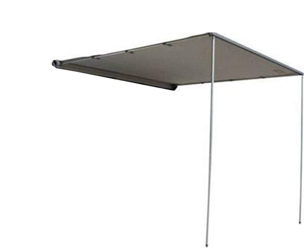 DANCHEL OUTDOOR Side Awning for Car SUV, Color Grey Size 8.2x10ft