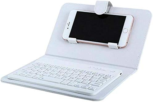 Wodeni - Mini Teclado Bluetooth portátil con Funda de Piel para ...
