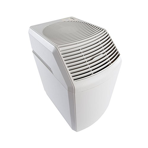 AIRCARE 831000 Space-Saver, White Whole House Evaporative Humidifier 2700 sq. ft