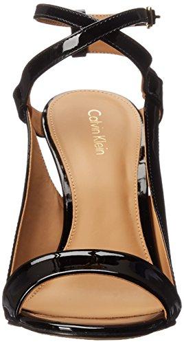 Calvin Klein Meville vestido de la sandalia Black