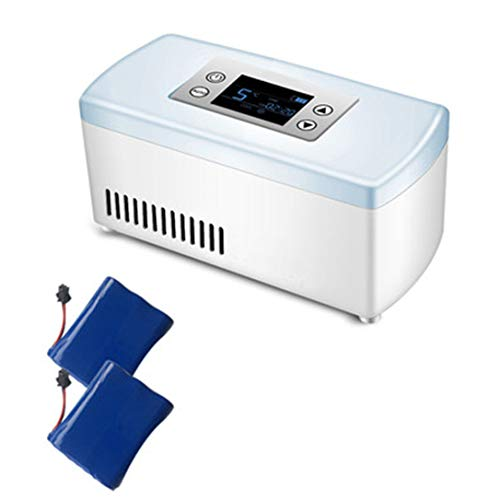 ZYFA Portable Insulin Cooler,Drug Constant Temperature Refrigerato,Mini Car Refrigerator Refrigerated Box,Portable Reefer