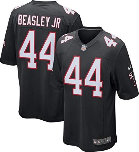 Nike Mens Vic Beasley Atlanta Falcons Game Jersey (Large) Black