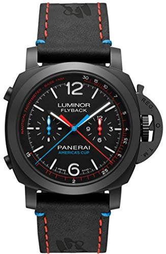 Limited Edition Panerai Luminor 1950 Oracle Team USA 3 Days Chronograph Flyback Automatic Ceramica - 44mm PAM00725