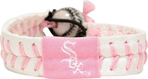- GameWear MLB Chicago White Sox Pink Baseball Bracelet