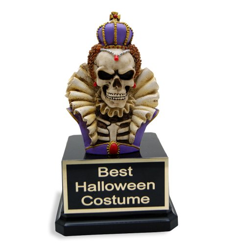 Skeleton Queen Trophy - Halloween Award, Costume Content Trophies, Skeleton Lover Gift and Funny Trophy by Far Out (Halloween Best Dressed Award)