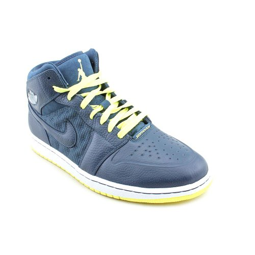 Nike Air Jordan 1 Retro 97 Txt-Basketball-Schuhe Squadron Blue/Squadron Blue-electric Yellow