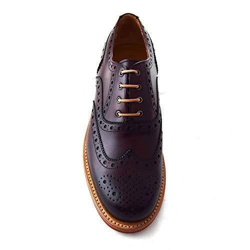 Zapatos De Hombre Berwick Rojo Para Cordones qaqZd
