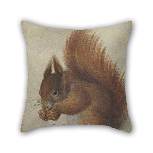 - Bestseason 16 X 16 Inches / 40 By 40 Cm Oil Painting Hans Hoffmann - Red Squirrel Throw Pillow Covers ,twice Sides Ornament And Gift To Adults,girls,chair,indoor,boy Friend,kids Boys