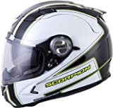 Scorpion EXO-1100 Sixty-Six Helmet - X-Small/Black/Neon