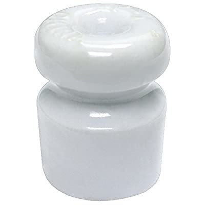 Zareba Systems WP-5E Single Groove Porcelain Insulator with Nails