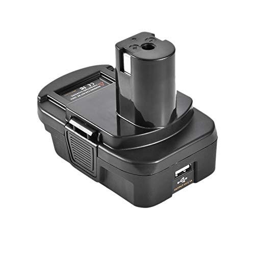 Semoic Dm18Rl Lithium Battery Convertor Adapter for Milwaukee Ryobi 20V//18V P108 Abp1801 Li-Ion Battery