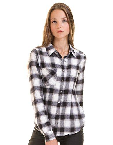 BLEND SHE Camisa Cuadros Negros (S - Negro): Amazon.es: Ropa y accesorios