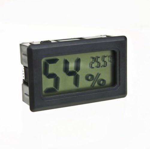 Digital LCD Mini Indoor Temperature Humidity Meter Thermometer Hygrometer