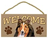 Sheltie Welcome Sign 5