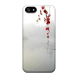 Case Cover Red Serenity/ Fashionable Case For Iphone 5/5s wangjiang maoyi