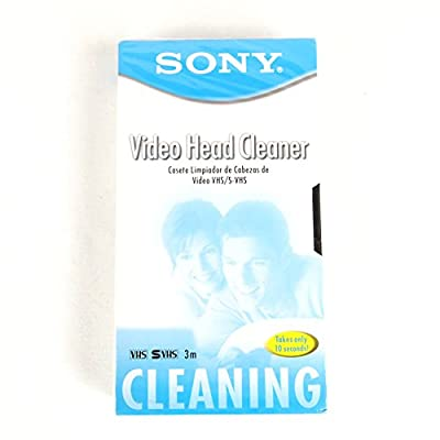 SONY VHS / S-VHS Video Head Cleaner by Sony