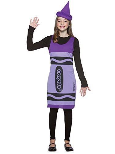 Tween Wisteria Crayon Dress (CRAYOLA TANK WISTERIA 10-12 TW)