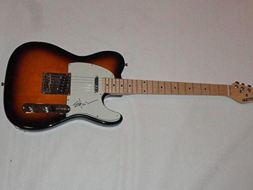 (Shooter Jennings Signed Sunburst Electric Guitar Country Waylon Proof Coa - JSA Certified)
