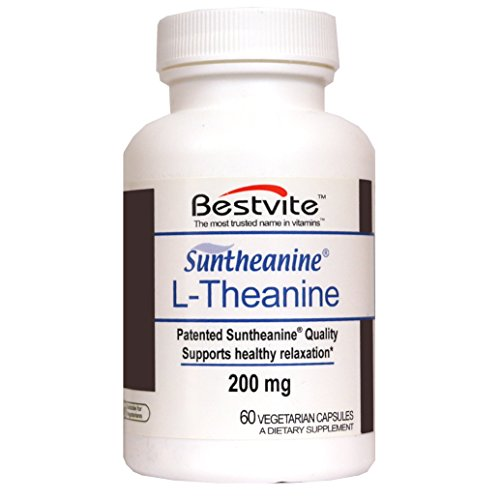 L Theanine 200mg Suntheanine Vegetarian Capsules