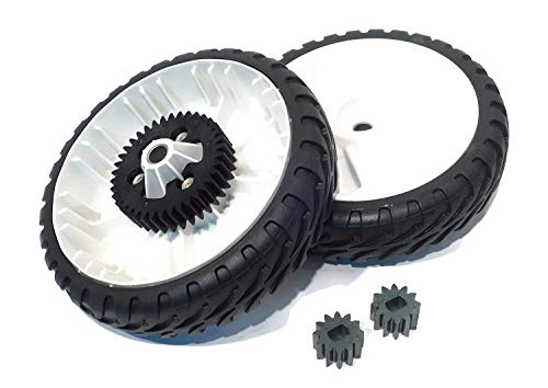 (Toro 138-3216 & 115-4668 Conversion Wheel & Pinion Gear Kit)