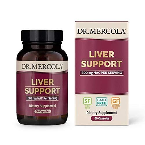 Dr. Mercola Liver Support Formula - 60 Capsules