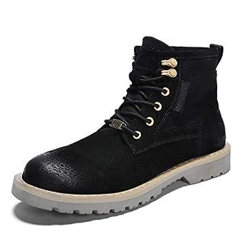0816f507068 LOVDRAM Chaussures Hommes Automne Et Hiver Help Martin Boots Chaussures d hiver  pour Homme Bottes