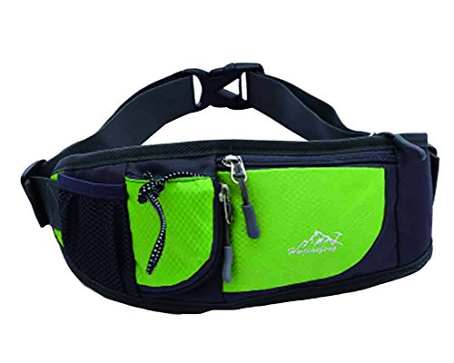 Baymate Outdoor Bag Belt Green Pack Sports Small Waist Unisex aa5wrg