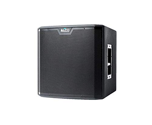 Alto Professional TS212S | 12 Powered Truesonic Subwoofer with Quiet, Fanless Cooling (1250W Peak Class D Power / 42-100Hz)
