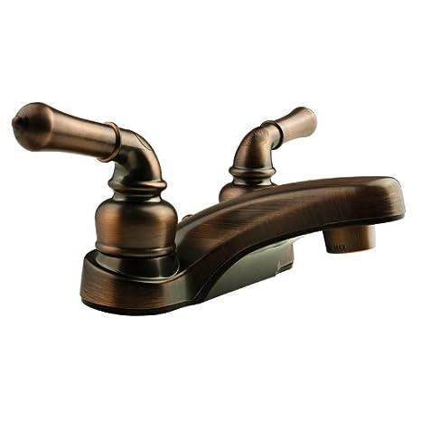 Amazon.com: Dura Faucet (DF-PL700C-ORB) Classical RV Lavatory Faucet ...