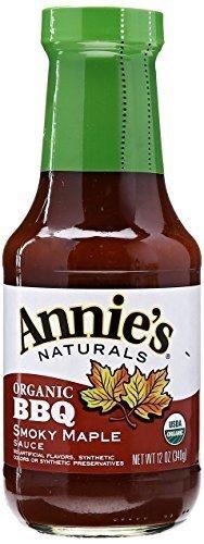 Annie's Naturals BBQ Sauce Smokey Maple 12 oz. (Pack of 12) ( Value Bulk Multi-pack)