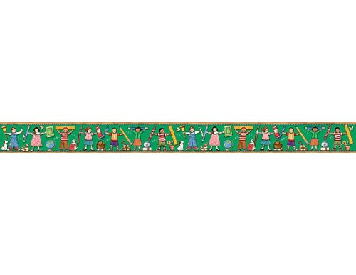 (Teacher Created Resources Kids Straight Border Trim from Susan Winget, Multi Color (4692))