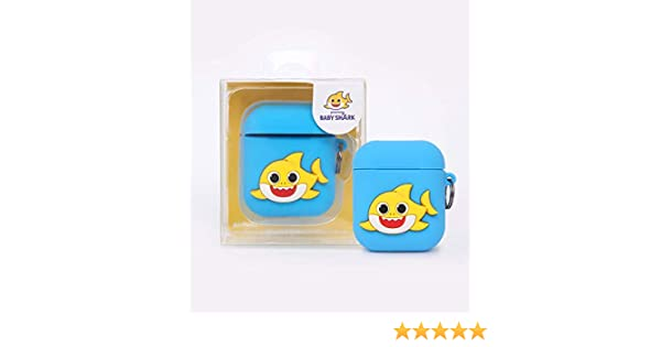Pinkfong Baby Shark Official Silicone Cover for Apple Airpod Case