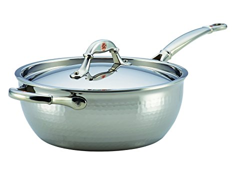 Ruffoni 4-Qt Chef's Pan, Small, Stainless Steel by Ruffoni