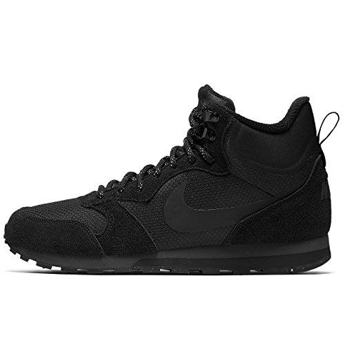 Nike Menns Md Løper To Mid Premium Sko Sort / Antrasitt Størrelse 7 M Oss