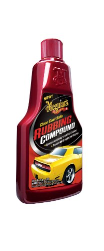 Meguiar's G18016 Clear Coat Safe Rubbing Compound - 16 oz. (Best Auto Rubbing Compound)