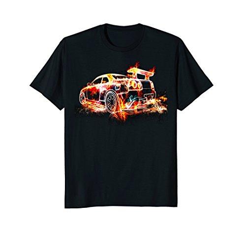 Exotic Car Supercharge Turbo Sports Car T  Shirt