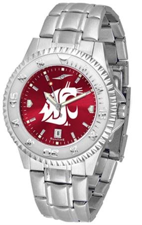 - Washington State Cougars Competitor Steel AnoChrome Men's Watch