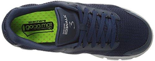 Men's 3 Navy Skechers Gowalk Uomo Blu Fitknit Sneaker Blu dqTETS1