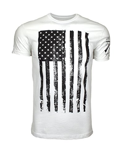 a70e9245 Amazon.com: Grunt Style Men's America T-Shirt: Clothing