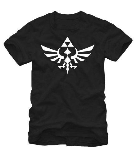 The Legend Of Zelda Triumphant Triforce Shirt - Black (Medium)