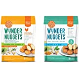 Wundernuggets Mix it up - 3 Bags Each of Gluten & Grain-Free Rosemary Chicken + Minty Lentil Wundernuggets (Pack of 6 Bags)