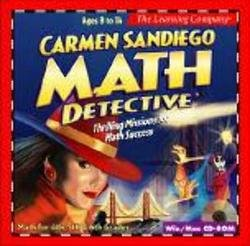 Carmen Sandiego Math Detective  [OLD VERSION] (Computer Games Old)