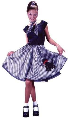 50'S Bobby Soxer Poddle Costume S/M]()