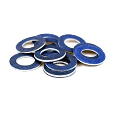 Oil Drain Plug Gasket;Seals the drain plug against the oil pan, preventing oil leaking, which can damage both your engine and the enviroment.;oil leaking, which can damage both your engine and the enviroment.